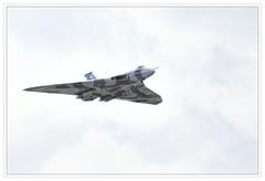 Vulcan Bomber (alone68) Tags: canon aircraft airshow vulcan manston