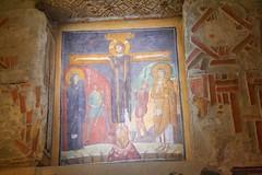 Crucifixion : Santa Maria Antiqua 741-752 (Seoirse) Tags: santa rome church catholic maria fresco crucifixion 741 antiqua 752