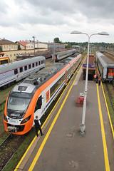 20160717 0755 (szogun000) Tags: rzeszw poland polska railroad railway rail pkp station rzeszwgwny ezt emu set electric newag impuls en63a 36wea 36wea003 en63a003 pr przewozyregionalne train pocig  treno tren trem passenger commuter regio 39326 d2971 d2991 d29106 podkarpackie podkarpacie subcarpathia canon canoneos550d canonefs18135mmf3556is