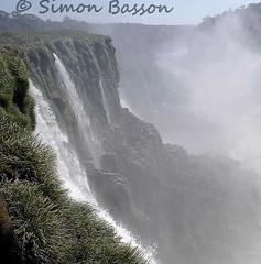 Argentina Iguazu Devil's Throat downstream (Bassons38) Tags: water argentina landscape waterfall outdoor iguazu devilsthroat