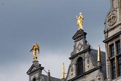 Golden angel (quinet) Tags: antwerp belgium engel ange angel flanders