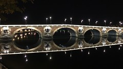 Pont Neuf Tolouse River la Garonne France (roli_b) Tags: pont neuf pontneuf bridge new neue brcke toulouse old town oldtown altstadt ciudad garonne river fluss rio lagaronne frankreich