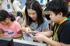 DSC_0704 (roger528852momo) Tags: 2016           little staff person explore summer camp hokuzine ever worker china youth corps ying qiao elementary school arduino robot food processing workshop taipei taiwan roger huang roger528852momo