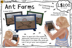 -RC- Ant Farms (-RC- Cluster) Tags: ants bugs antfarm farm farming fireant blackants anteater learning kids science mean animals shake animations