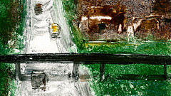 route 10 (Frdric Glorieux) Tags: frdricglorieux france route road acryl a4 peinture painting