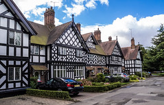 THE GREEN. WORSLEY (I.K.Brunel) Tags: worsley england unitedkingdom house halftimbered village