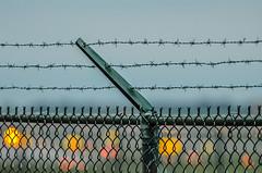 The other side (gdajewski) Tags: afsnikkor200500mmf56eedvr nikond7000 gdajewski dajewski albanyny airport fence dusk dof bokeh