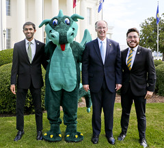341A0138 (Governor Robert Bentley) Tags: school spirit montgomery alabama usa swac ncaa auburn aubie blaze dragon uab cocky gamecock jacksonville freddie the falcon montevallo north west troyuniversity aum university south uah state athens