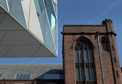 Manchester Architecture - new and old angles (Tony Worrall) Tags: gmr manchester manc city northwest northern uk update place location england north visit area county attraction open stream tour country welovethenorth unitedkingdom architecture build buildings greatermanchester