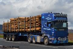 ALISTAIR CAMPBELL SCANIA R580 V8 V800 AAL (denzil31) Tags: alistair campbell scania r580v8 v800 aal timbertransport timberhaulage kelsalightbar scaniatrucks