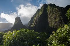 Iao Valley (8mr) Tags: iao needle valley maui haleakala crater sunset sunrise hawaii oahu honolulu driving volcano clouds bucketlist 808 scenic mother nature natural wanderlust hiking