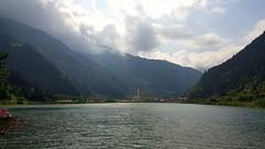Uzungl, Trabzon, Turkey (besikt_asli) Tags: turkey trkiye karadeniz dou yeil doa da bulut mavi gl nature landscape river lake region mountain trabzon caykara aykara uzungol uzungl tourism touristic visit trip