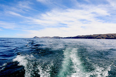 Sailing from Isla del Sol to Copacabana on Lake Titicaca / Bolivia (anji) Tags: bolivia southamerica americasur latinamerica titicaca lagotiticaca laketiticaca