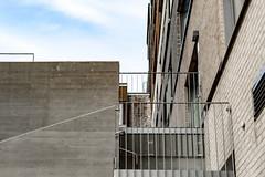 Stairs (Jori Samonen) Tags: stairs building concrete fence sky cloud kalasatama helsinki finland nikon d3200 350 mm f18 nikond3200 350mmf18