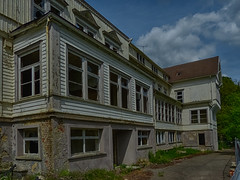 Sanat-A (54) (wilhelmthomas58) Tags: fz150 hdr sanatorium harz abandoned lostplaces