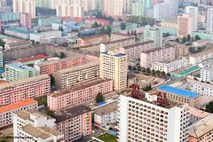 Pyongyang architecture from Juche tower (George Pachantouris) Tags: dprk north korea pyongyang kim ilsung jongil jongun communism socialism