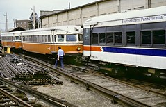 Orange Bullets (en tee gee) Tags: septa bulletcars philadelphia electric