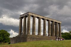 UK - Scotland - Edinburgh - Calton Hill - National Monument [EXPLORED 2016-Sept-16] (Marcial Bernabeu) Tags: marcial bernabeu bernabu uk united kingdom unitedkingdom reino unido reinounido greatbritain granbretaa scotland escocia edinburgh edimburgo calton hill monumento nacional national monument caltonhill nationalmonument nationalmonumentofscotland monumentonacionaldeescocia