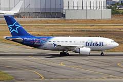 C-GTSF 2 Airbus A310-304 Air Transat TLS 15SEP16 (Ken Fielding) Tags: cgtsf airbus a310304 airtransat aircraft airplane airliner jet jetliner widebody