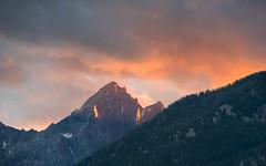 Mount Wister Sunset (jmdarter) Tags: gtnp tetons mountains sunset