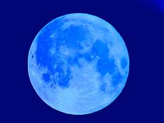 Blue Moon (frankhimself) Tags: stunning explore beautiful shot photography powershot cannon clouds bluemoon stars sky moonlight
