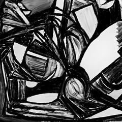 ITLA - It's That Lady Again (bill_giddings) Tags: blackandwhite original modernfineart figurepainting portrait oilpaintoncanvas geometricstyle cubism artdeco artnouveau surrealism impressionist postimpressionist modernart abstract space perspective lightanddark lightandshade shadows nikon