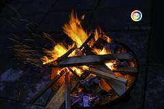 Enjoying cold evening with fire ! (Imtiaz akbar) Tags: fire red nikon hot warm orange colour
