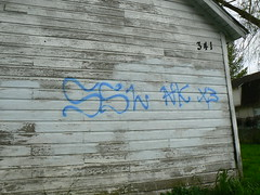 SOUTH SIDE LOCOS 13 (northwestgangs) Tags: graffiti 14 longview gangs norte xiv x3 ssl nortenos cowlitzcounty sur13 highlandsneighborhood surenos13