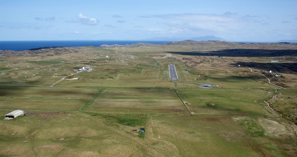 Final approach to Coll