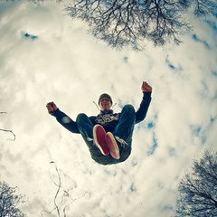 16/52 Fisheye jump - Explored (Lonyl) Tags: portrait selfportrait canon fisheye 8mm hss jumpshot jumpology samyang explored 40d jrnolavlkken 522012 52weeksthe2012edition weekofapril15