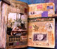 10 wtj- visuelle poesie/ visual poetry (LaWendeltreppe) Tags: art collages journal wtj