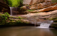 LaSalle Falls (rseidel3) Tags: nature water waterfall illinois rocks canyons starvedrock