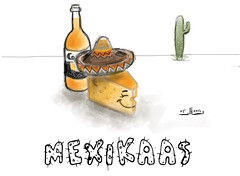 Mexikaas (Mexi-cheese) #MadeWithPaper (WouterZArtZ - Dutch Designs!) Tags: cactus cheese illustration sketch comic drawing cartoon mexican corona ipad madewithpaper ipad2 paperapp paper53 learningpaper