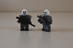 Recon Revised (Douglassier) Tags: urban soldier marine war gun lego painted inspired scout sniper medic wound armour officer wif urbancamo faction wic specops uen