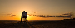 Burnham panoramic (images through a lens) Tags: uk sunset sea lighthouse coast europe unitedkingdom britain somerset coastal burnham burnhamonsea