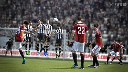 FIFA 13: Milan free-kick