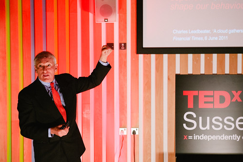 James Woudhuysen speaking at TEDxSussexUniversity 2012