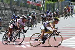 8318 TOJ2012 minami-shinshu stg (HottSpin) Tags: bicycle japan race nagano 15th roadrace 2012  tourofjapan