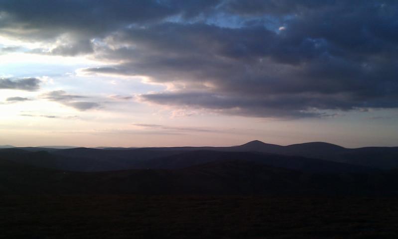 Towards Mount Keen