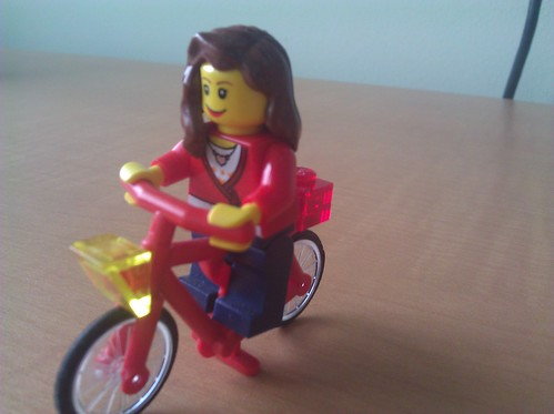 lego bike girl