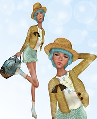LOTD61 (Sery Darkrose) Tags: italy cute girl look rain blog spring day mesh mother style blogger ufo goose korean bcc yr taketomi the of ohmarie
