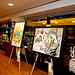 Jordan Winery 4on4 New York Art Competition at Sherry Lehmann