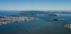Aerial Bay Area (P1260657) (Michael.Lee.Pics.NYC) Tags: sanfrancisco island golden bay gate treasure bridges aerial area alcatraz yerba buena