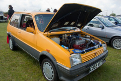 1986 MG Metro 1300 (Trigger's Retro Road Tests!) Tags: show classic car metro retro mg vehicle 1986 essex 2012 1300 lawford revival manningtree