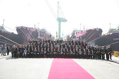 RasGas Naming Ceremony (Teekay Corporation) Tags: ceremony vessel gas event lng naming teekay tgp rasgas