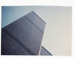 THE WORLD TRADE CENTER IN 1985 (richie 59) Tags: city nyc newyorkcity urban usa building film america skyscraper 35mm buildings outside us spring unitedstates manhattan worldtradecenter oldbuildings 35mmfilm wtc newyorkstate oldpictures 1980s 1985 oldbuilding tradecenter bigcity olddays nystate cityofnewyork tallbuildings historicbuildings americancity april1985 americanbuilding battarypark battaryparkcity picturescan americanbuildings richie59 april51985 old35mmpictures