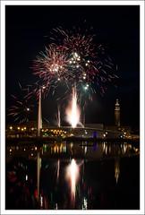 Bassin du commerce - Le Havre (miktris) Tags: de commerce fireworks du le havre feu dartifice fuegos vuurwerk bassin feuerwerk fogos  artificiales fuochi artifcio dartificio