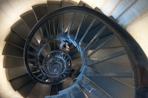 Spiral staircase at the Monument by Mister-E, on Flickr