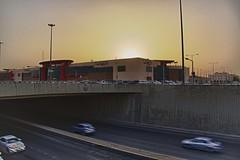AH-0003 (Alan Holden) Tags: bridge sunset riyadh saudiarabia