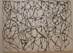 Brice Marden (American, born 1938): 'Cold Mountain 6 (Bridge)' (sftrajan) Tags: museum painting modernart sfmoma musee museo sanfranciscomuseumofmodernart bricemarden